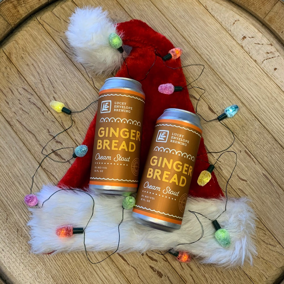 Gingerbread Cans with Lights Social